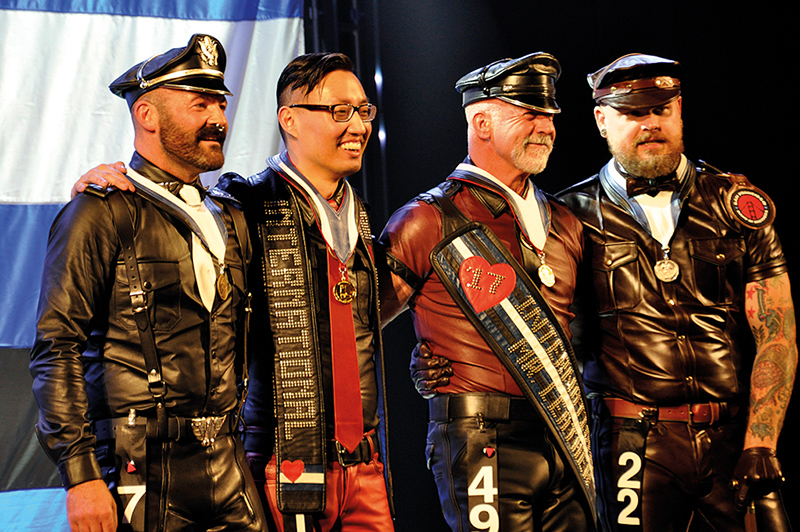 INTERNATIONAL MR LEATHER 2017: THE NAKED INTERVIEW! A