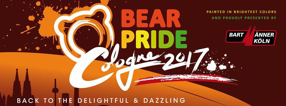 German Bear Pride 2017, Köln, 22. bis 26. November