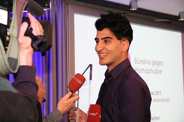 Respektpreisträger 2015 Nasser El-Ahmad (Foto LSVD)