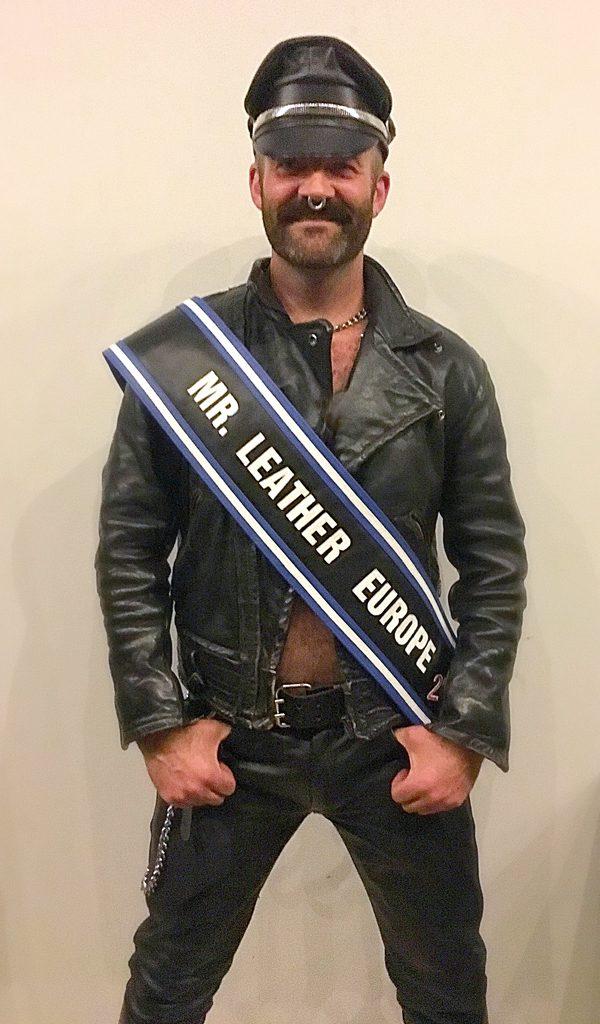 Joe King - Mr. Leather Europe 2016 / Mr. Leather UK 2016